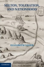 Sauer, Elizabeth Milton, Toleration, and Nationhood