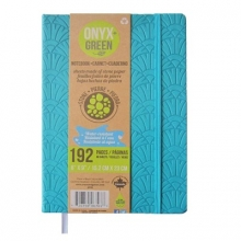 Onyx & Green Journal Blue