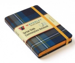 Waverley Scotland Holyrood: Waverley Genuine Tartan Cloth Commonplace Notebook