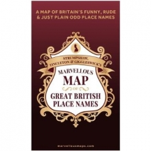 S T & G`s Marvellous Map of Great British Place Names