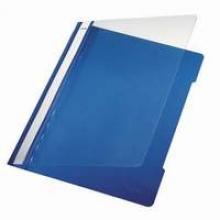 , Snelhechter Leitz 4191 A4 PVC lichtblauw
