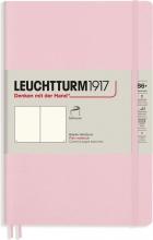 Lt363932 , Leuchtturm notitieboek softcover 19x12.5 cm blanco powder roze