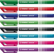 , Fineliner STABILO Sensor 189 etui à 8 kleuren