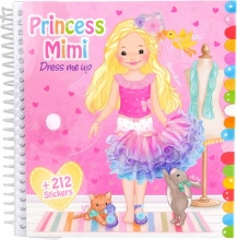 My style princess stickerboek mimi dress me up