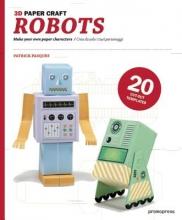 P.,Pasques Robots 3d Paper Craft