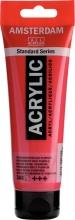 , Talens amsterdam acrylverf tube 120 ml permanentrood purper 348