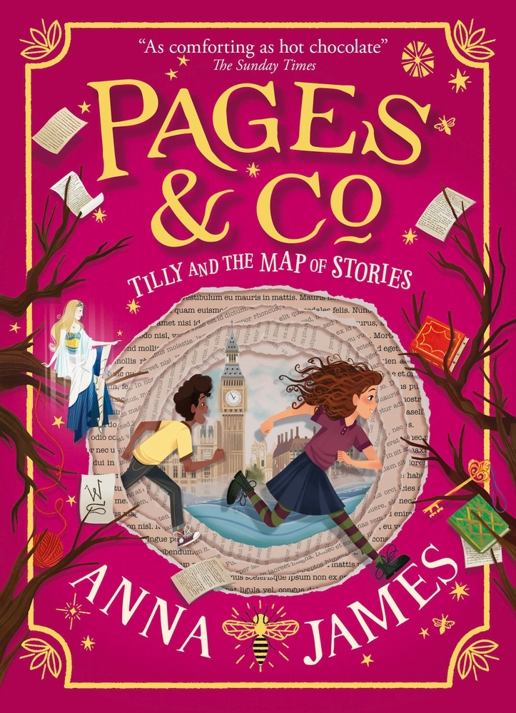 Anna James,Tilly and the Map of Stories