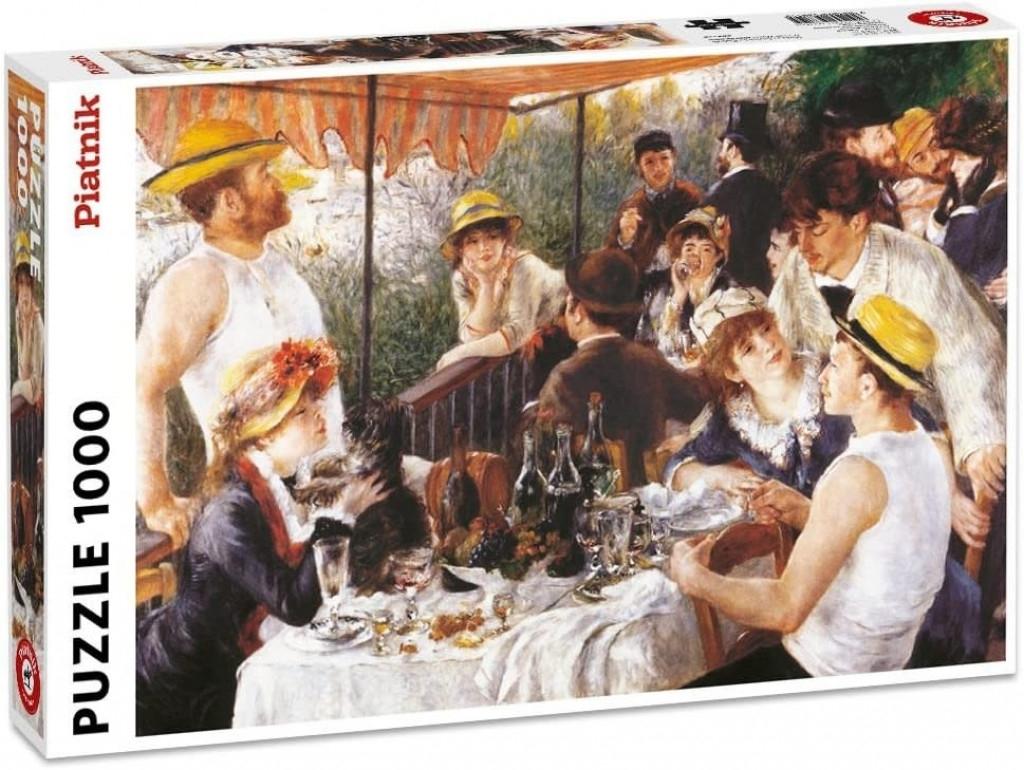 Pia-568145,Puzzel piatnik lunch van de roeiers auguste renoir 1000 stukjes 48x68cm