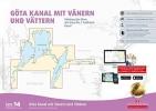 , Sportbootkarten Satz 14: G?takanal mit V?nern und V?ttern (Ausgabe 2018/2019)