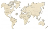 <b>Wooden.city world map l 830x550 mm</b>,