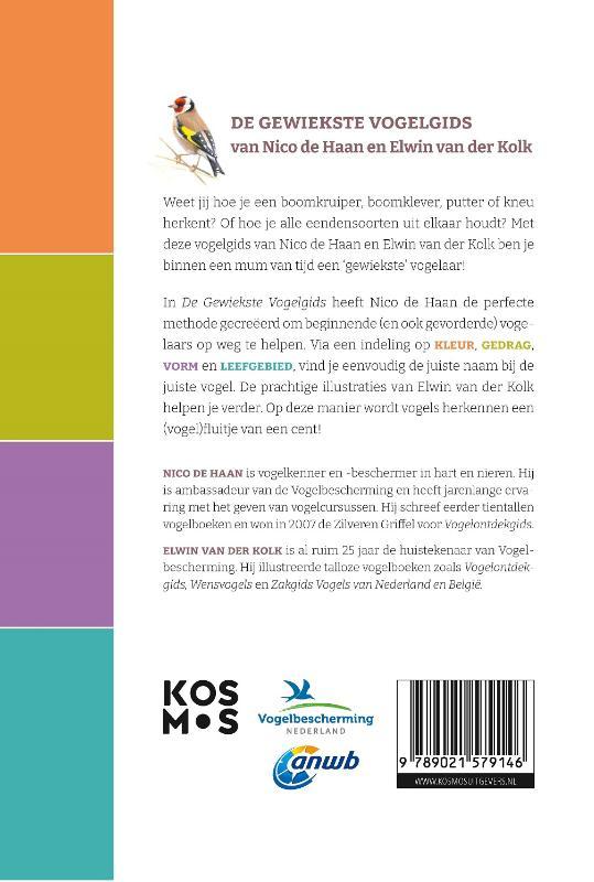 Nico de Haan, Elwin van der Kolk,De gewiekste vogelgids