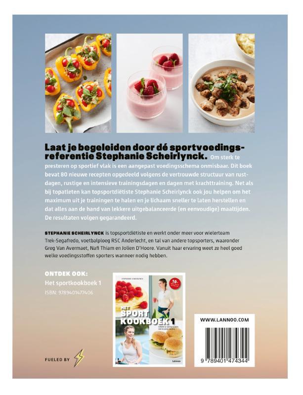 Stephanie Scheirlynck,Het sportkookboek 2