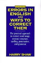 Shaw, Harry Errors in English and Ways to Correct Them