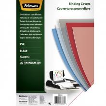 , Voorblad Fellowes A3 PVC 200micron 100stuks