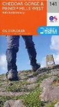 Ordnance Survey Cheddar Gorge and Mendip Hills West