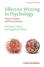 Bernard B. Beins,   Agatha M. Beins Effective Writing in Psychology