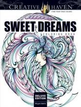 Miryam Adatto Creative Haven Deluxe Edition Sweet Dreams Coloring Book