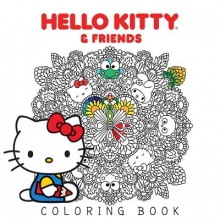 Various Hello Kitty & Friends Coloring Book