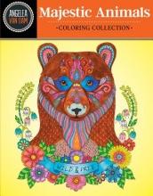 Van Dam, Angelea Hello Angel Majestic Animals Coloring Collection