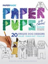 PaperMade Paper Pups Coloring Book