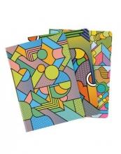 Bookblock Supermundane Cahier 3 Pack - Lined/Plain/Dot Grid - Medium