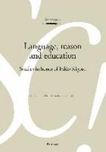 Gobber, Giovanni,   Rocci, Andrea Language, reason and education