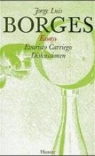 Borges, Jorge Luis Gesammelte Werke 01. Essays