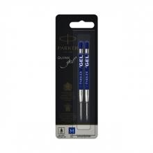 , Gelpenvulling Parker blauw 0.7mm blister à 2 stuks