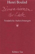 Boulad, Henri Dimensionen der Liebe