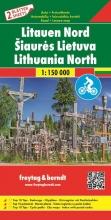 , F&B Litouwen West en Oost 2-kaartenset