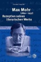 Cronen, Thomas Max Mohr (1891-1937). Rezeption seines literarischen Werks