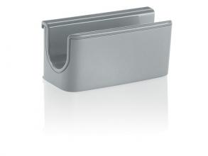 , Pennenhouder Sigel            voor glasborden van 3 tot 5mm                               licht grijs 75x37x35mm
