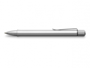 , Balpen Faber-Castell Twist Zilver