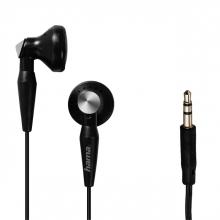 , Oortelefoon Hama earbuds Basic4Music zwart
