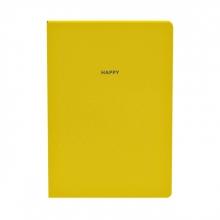 , Notitieboek Quattro Colori original A5 geel