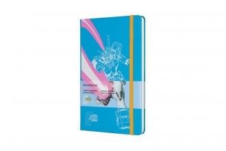 , Moleskine LE Notitieboek Gundam Large (13x21 cm) Gelinieerd Blauw