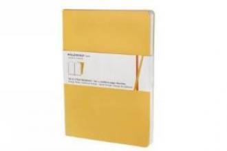 Moleskine Volant Extra Large Plain Orange Yellow & Cadmium O