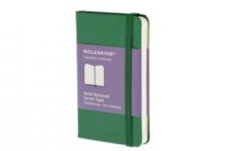 Moleskine Ruled Notebook Carnet Ligne Emerald Green