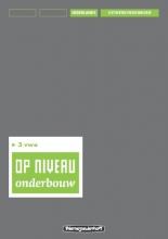 Kraaijeveld Op niveau 3 vwo Uitwerkingenboek/Lineair
