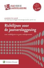 Richtlijnen voor de jaarverslaggeving grote en middelgrote rechtspersonen 2016
