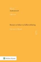 B. Wessels , Bestuur en beheer na faillietverklaring