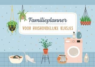 , Familieplanner voor huishoudelijke klusjes