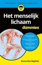 Donna Rae Siegfried , Het menselijk lichaam voor Dummies