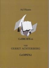 Haans, Ad Gedichten van Gerrit Achterberg geopend