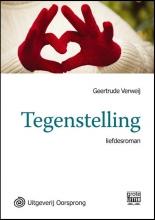Geertrude  Verweij Tegenstelling - grote letter uitgave