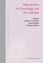 , Peter de Rivo on Chronology and the Calendar