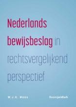 W.J.G. Maas , Nederlands bewijsbeslag in rechtsvergelijkend perspectief