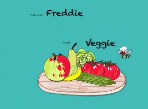 Janine Degenaars , Vleesvlieg Freddie wordt Veggie