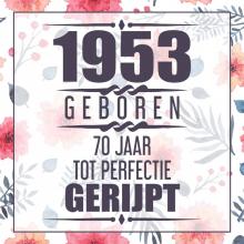 Vera Nelles , 1951 Geboren 70 Jaar Tot Perfectie Gerijpt