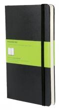 , Notitieboek Moleskine large 130x210mm blanco zwart
